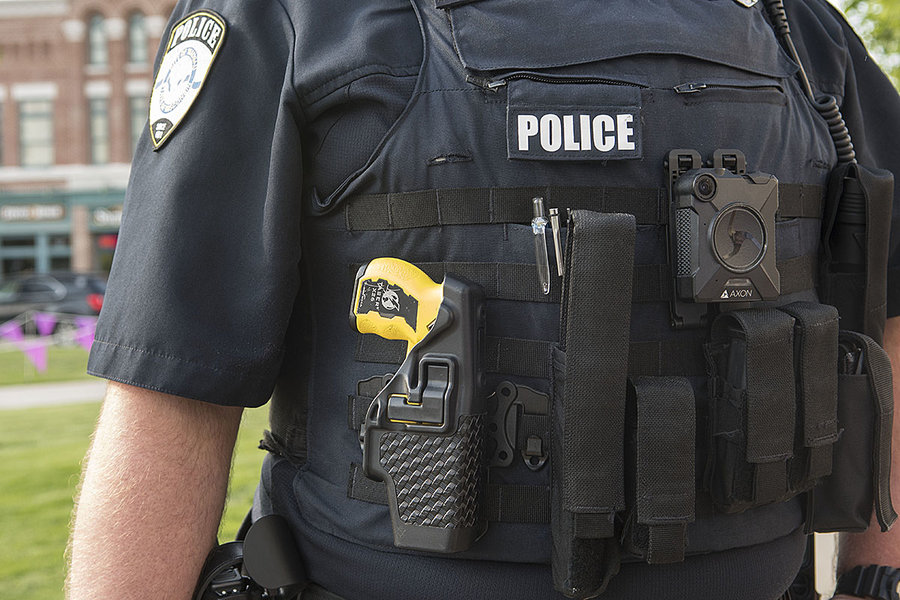 body cameras, police and community