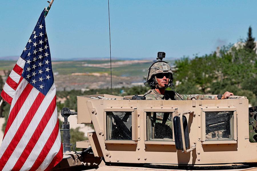 Syria, US military