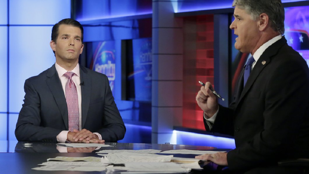 Donald Trump Jr, Sean Hannity