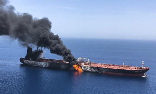 oil tanker attack, Iran