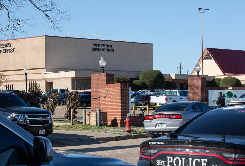 Violence in America, Texas Church Shooting, gun control and gun rights, White Settlement, West Freeway Church