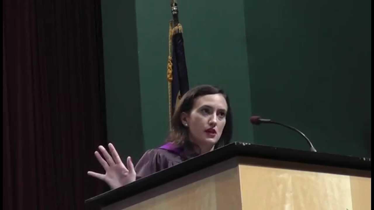 Buckwalter-Poza at podium