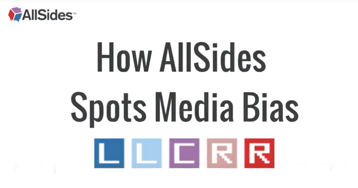 How AllSides Spots Media Bias
