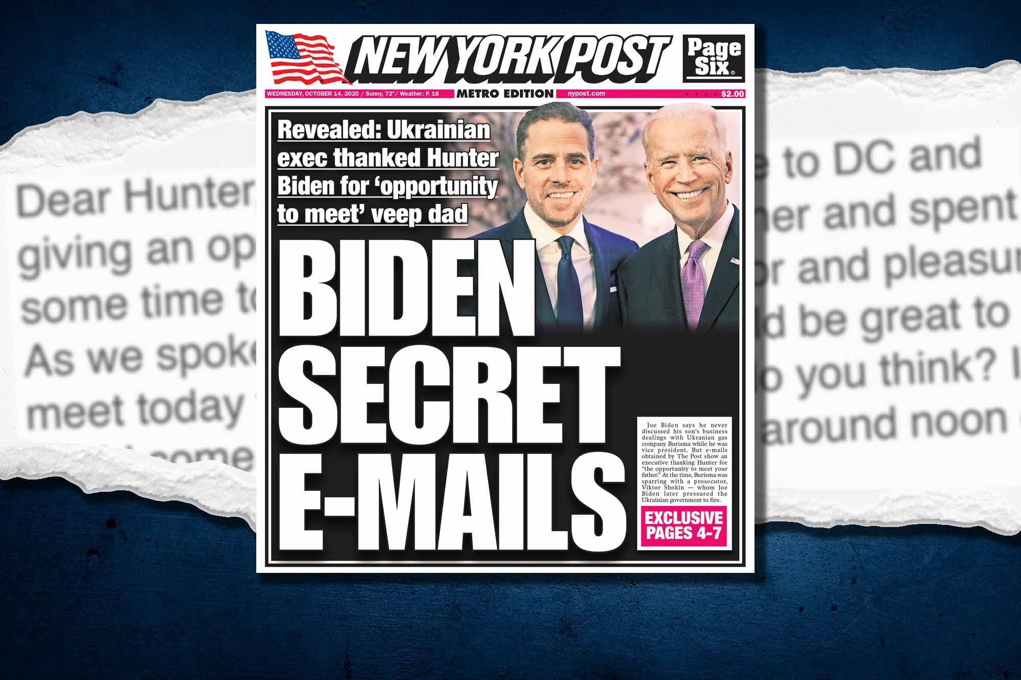 Red Pill News: JOE BIDEN LIED! – Hunter Biden Emails Released!