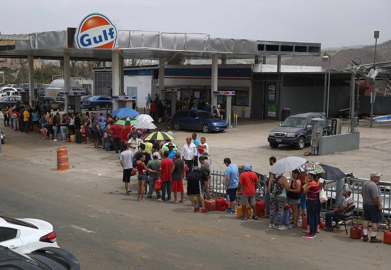 Gas shortage in Puerto Rico