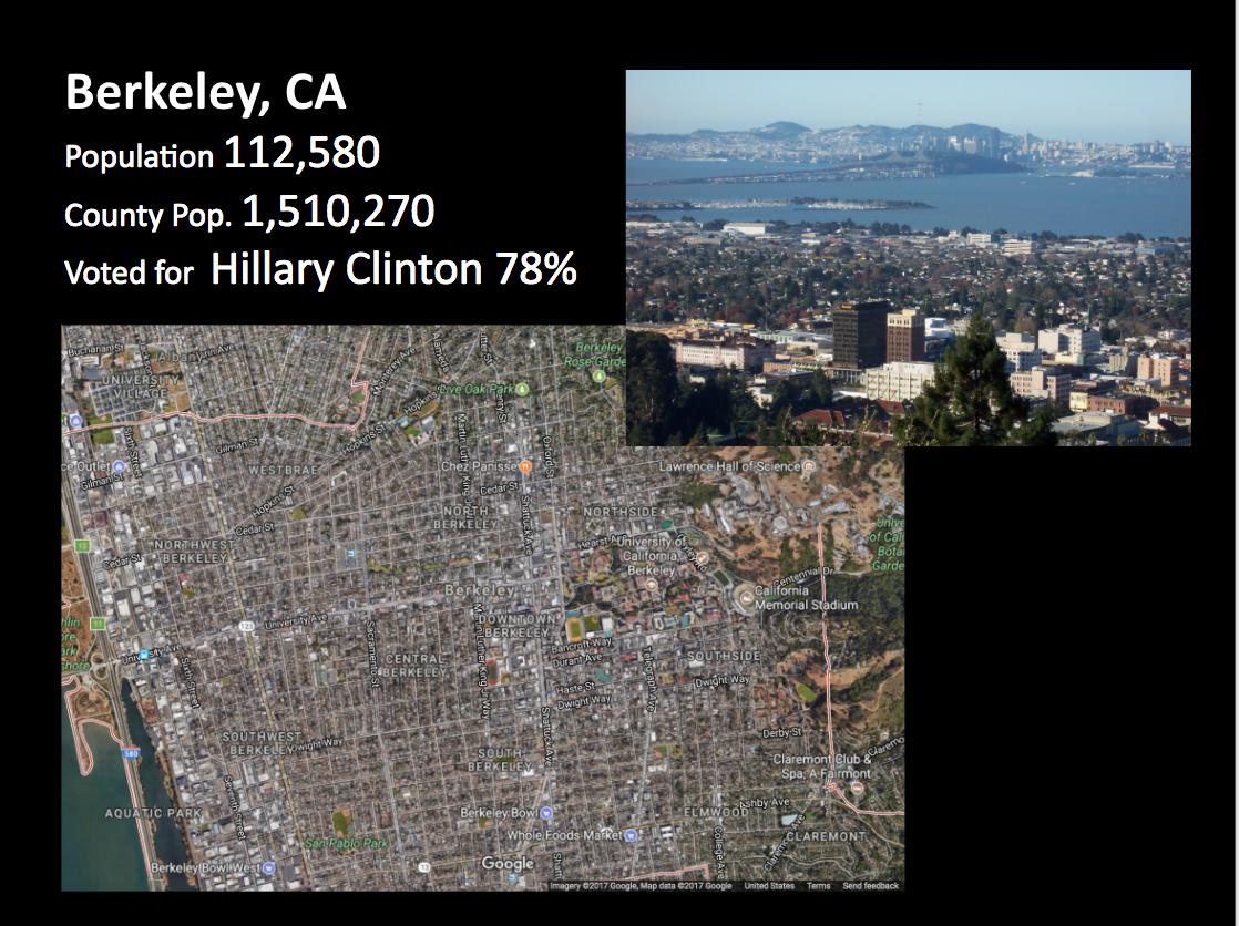 Berkeley slide