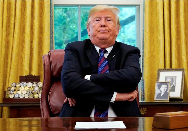 Trump accuses Google of hiding 'fair media' coverage of him