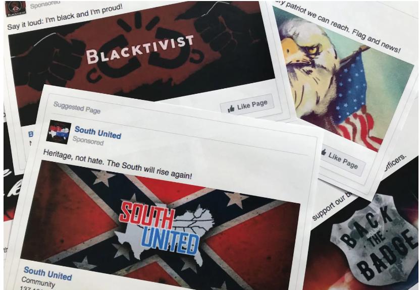 Elections, Russian meddling, Social Media