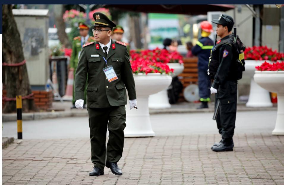 White House Press Corps, Hanoi