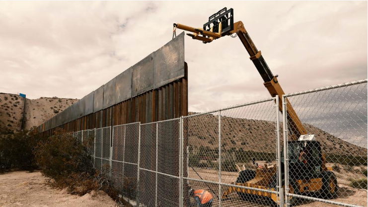 Pentagon, border wall