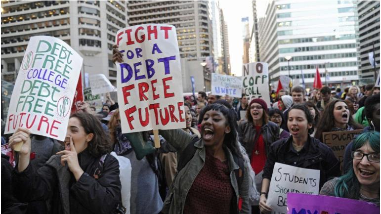 student loan debt, millennials