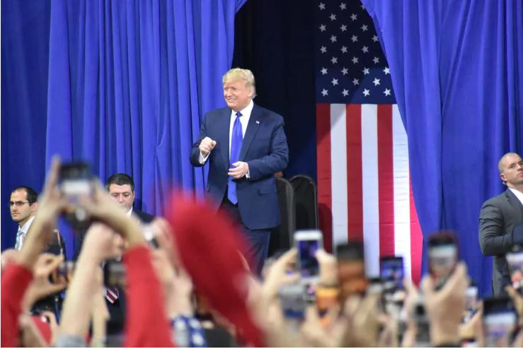 Media Bias, Media Watch, NPR, Milwaukee, Trump rally