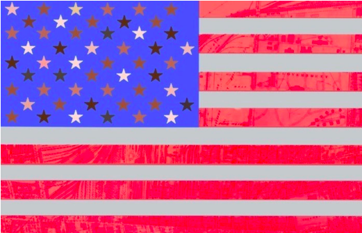 Macy Gray's redesigned American flag