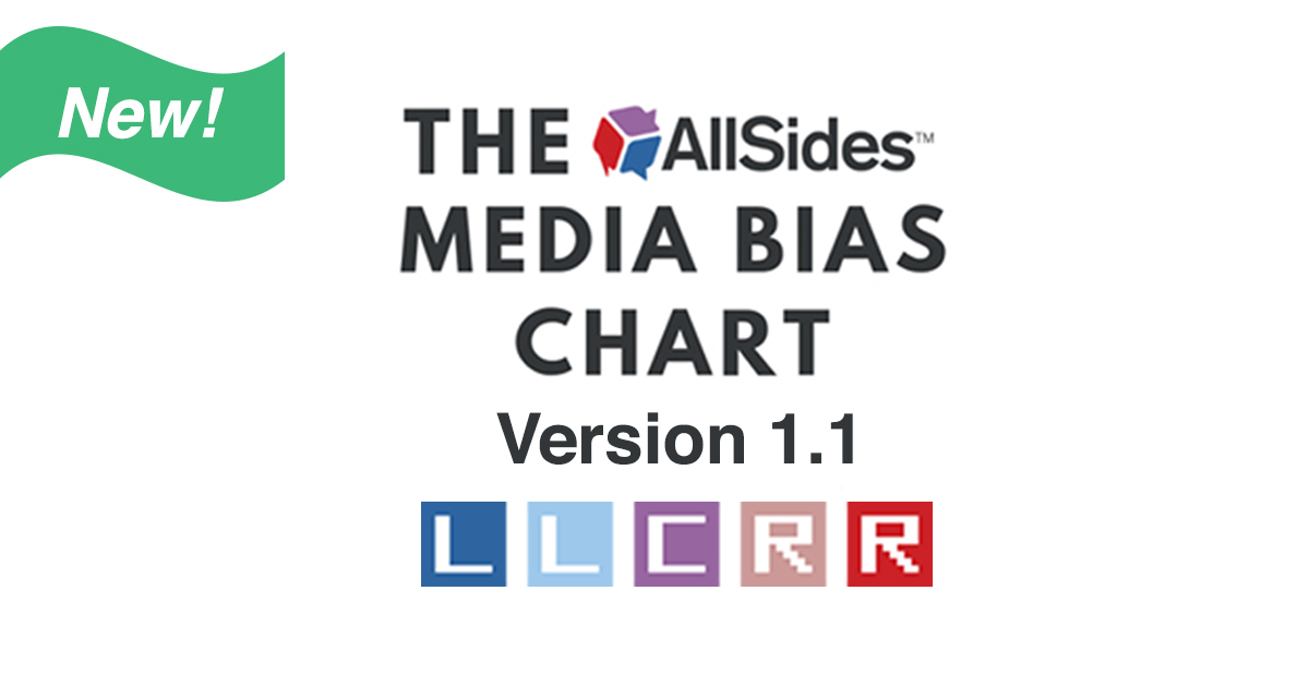 Media Bias Chart Version 1.1 Blog Post