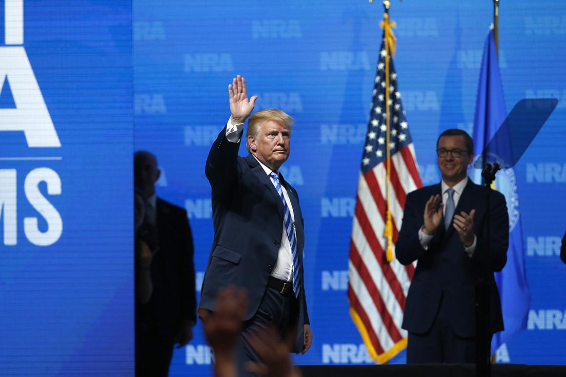 NRA, election 2020, Trump Campaign