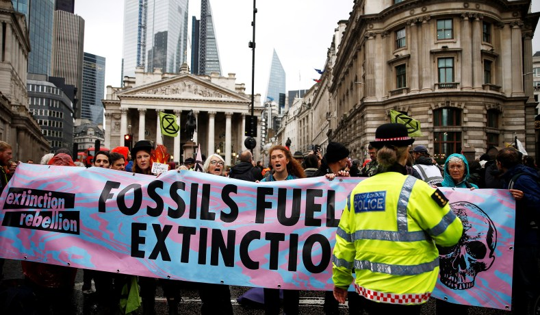 climate change, protests