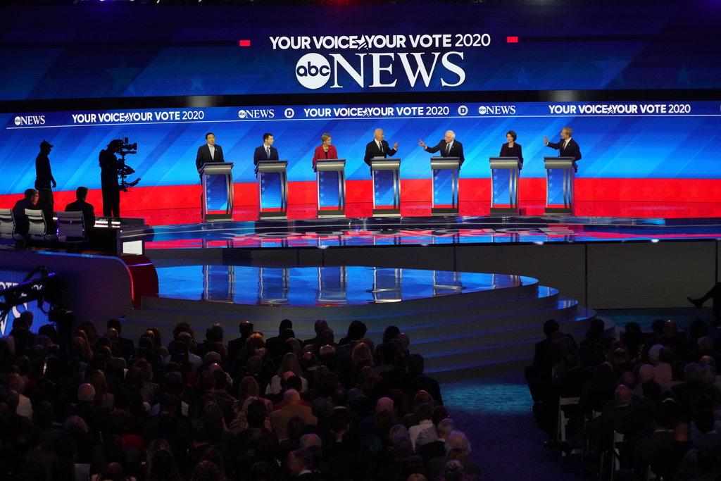 elections, Presidential elections, Democratic debates, Las Vegas debate, Michael Bloomberg