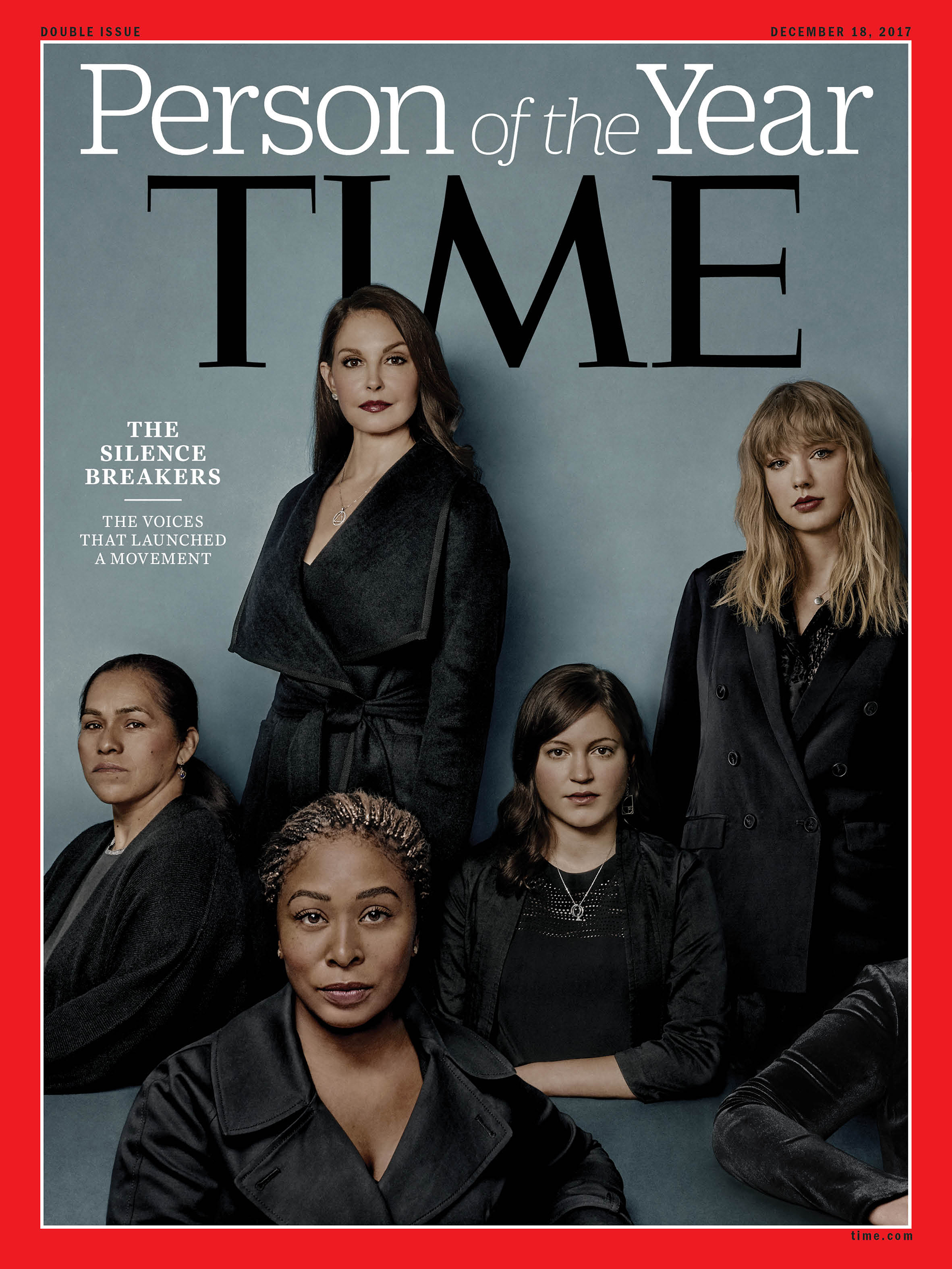 Time Person of the Year Cover - Silence Breakers