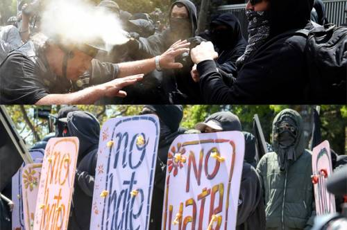 Antifa, violent or peaceful