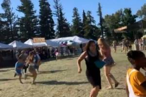 Violence in America, California Garlic Festival