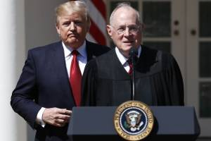 Donald Trump and Justice Kennedy
