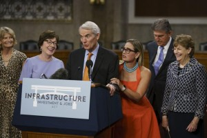 US Senate, infrastructure bill, bipartisanship