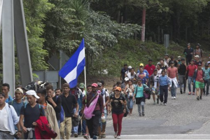 Immigration, caravan
