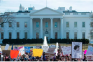 White House, protests