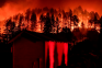 climate change, California wildfires, hurricanes