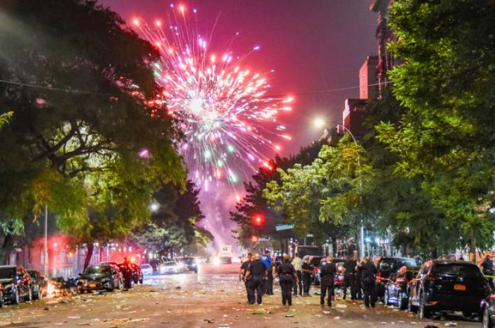 Violence in America, protests, Fourth of July, Gun Control and Gun Rights