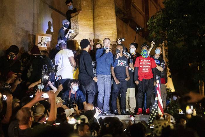 civil rights, free assembly, protests, mayors, public safety