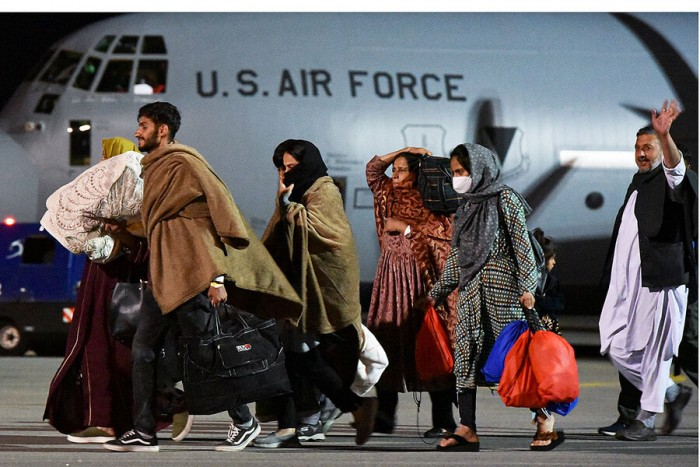 World, Afghanistan, evacuations