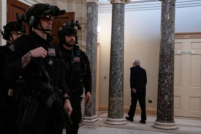 US Senate, impeachment, Mitch McConnell
