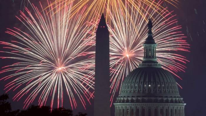 Fourth of July, poll. United States