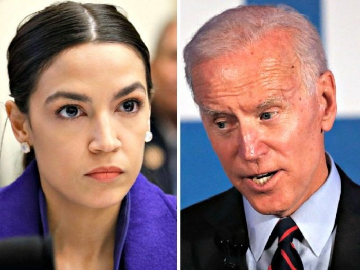 infrastructure bill, Joe Biden, Alexandria Ocasio-Cortez