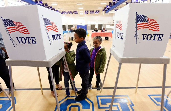 DOJ, voter suppression, right-wing, voter rights and voter fraud