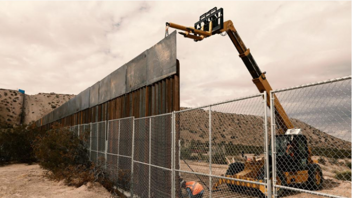 Pentagon, border wall