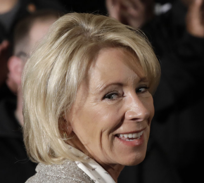 Betsy DeVos bashes student debt forgiveness, free college