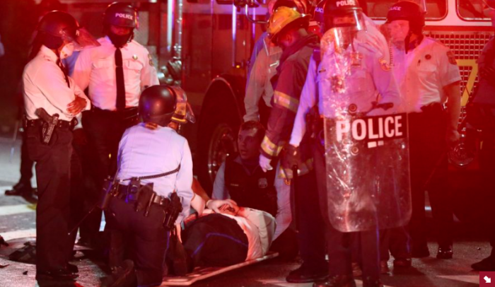 Violence in America, Race & Racism, police shooting, Philadelphia, White House