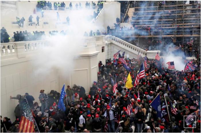 Capitol Chaos, law enforcement, Optics