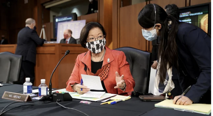 US Senate, Asian Americans, hate crimes