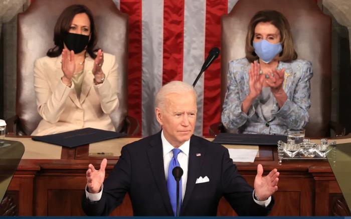 White House, Joe Biden, Joint Speech to Congress