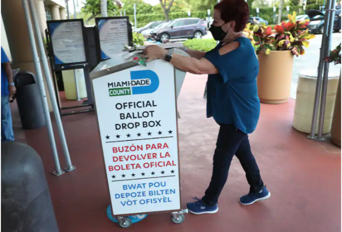 mail-in voting, Florida