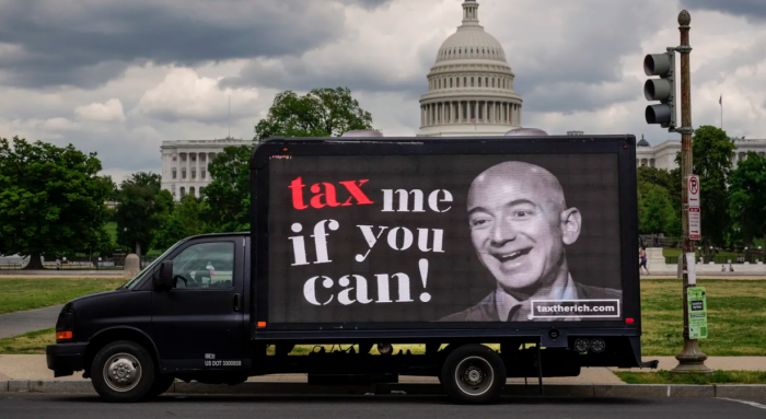 taxes, wealthy Americans