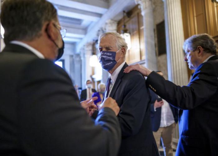 US Senate, infrastructure bill