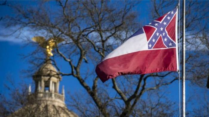 culture, Mississippi, state flag, Confederate emblem