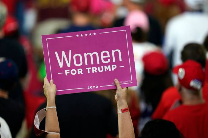 elections, Presidential elections, 2020 Election, Donald Trump, women voters