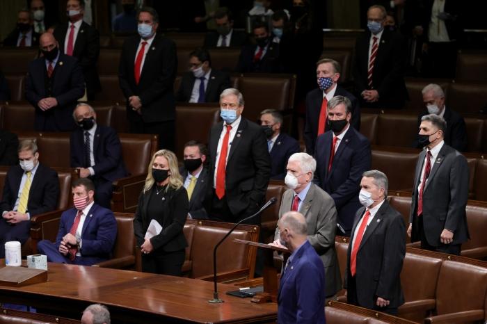 House Republicans, Donald Trump, reelection
