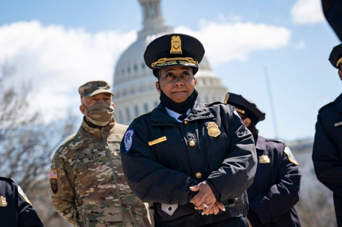 Violence in America, Capitol Chaos, Capitol police