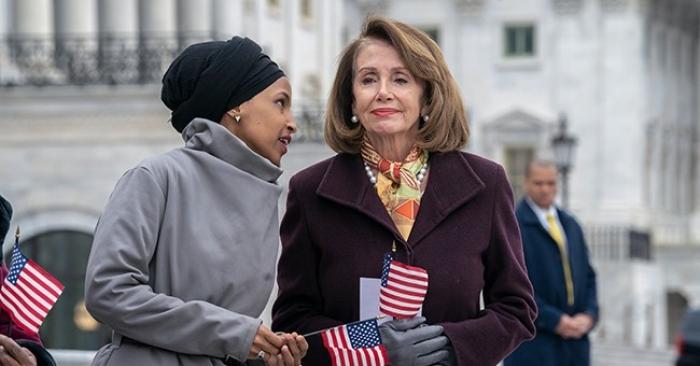 US House, Nancy Pelosi, Ilhan Omar